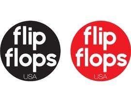 #39 untuk Quick LOGO for flip flop website oleh santiagotrevio
