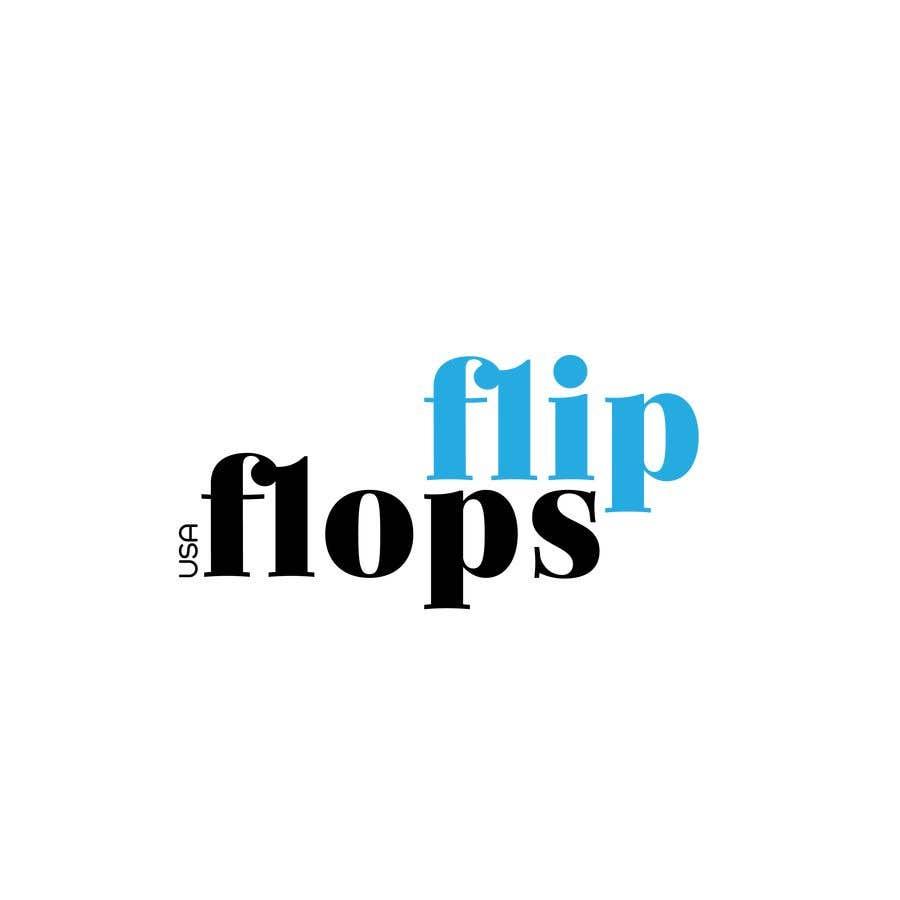 Penyertaan Peraduan #223 untuk Quick LOGO for flip flop website