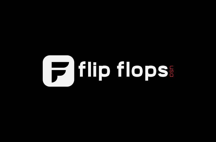 Penyertaan Peraduan #199 untuk Quick LOGO for flip flop website