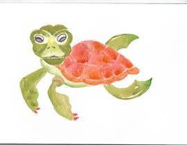 Nro 11 kilpailuun watercolour watercolor hand sketch artwork käyttäjältä trisahugo