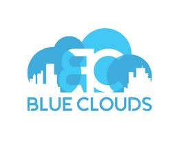 "Nro 27 kilpailuun Design a logo for a company named ""Blue Clouds"". The company is for construction, trade, services ... Be creative ! käyttäjältä gbeke"