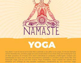 #26 for Yoga Classes Flyer by darbarg