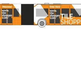 #74 for Tile Shoppe Bus Wrap af zlostur