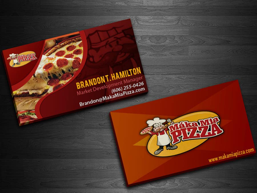 Entry #16 by acelobos9 for Design some Business Cards for Maka Mia ...