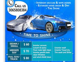 #14 for Design an Advertisement - Valet Auto Wash Service by DhanvirArt