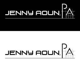 "#75 for I need a logo realyed to real estate, must be elegant and professional. The name must include ""Jenny Aoun, PA."" by amithaldar92"