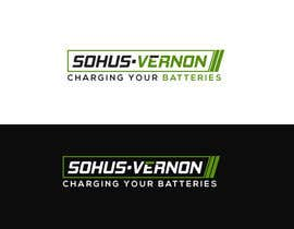 #7 cho I need a logo designed.   With box around the below :   SOHUS•VERNON  charging your batteries  Coulours white / green / greys  High quality   Clear back ground in all formats to be supplied bởi NeriDesign