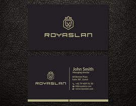 #3 for Business card design for a luxurious business development company by patitbiswas
