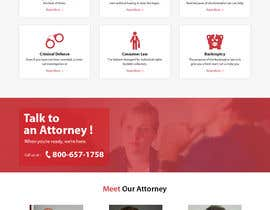 #6 for Build A Website for a National High Volume Law Firm (Personal Injury, Family, Employment etc.) af Bkmraj