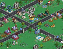 #2 cho 50 isometric building designs for iPhone/Android city building game bởi Dalkalts
