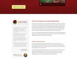 #19 untuk Wordpress Theme Design for New website for East West Detox, Charity Website oleh andrewnickell