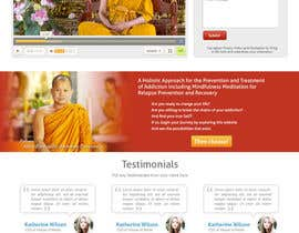#9 for Wordpress Theme Design for New website for East West Detox, Charity Website af abatastudio