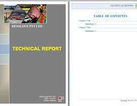 #12 for Word Template for a technical report af lau87artugyan