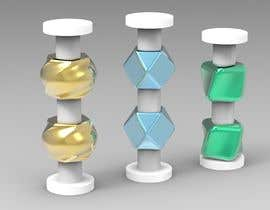 #28 for Design candleholders in 3D by balaji875329