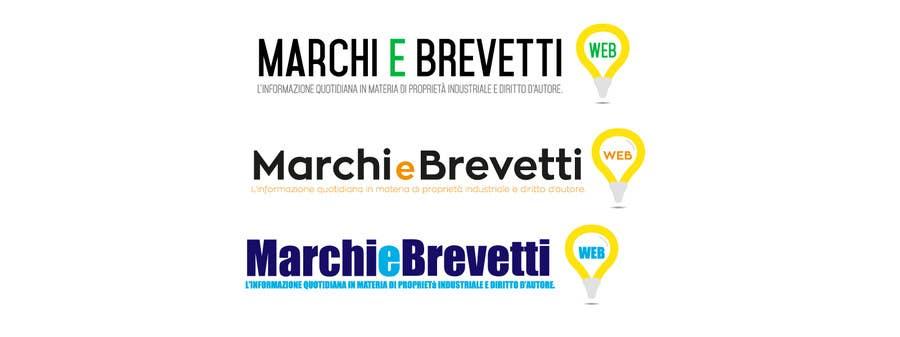 Penyertaan Peraduan #                                        73                                      untuk                                         Restyling logo Marchi e Brevetti web