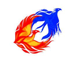 #10 para Fire and Water Phoenix Logo por armohamed