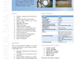 #28 for product data sheet af GopalJp