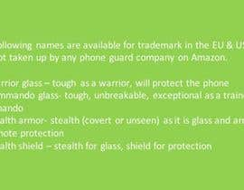 nº 27 pour I need a brand name for     (   phone Screen Protector   ) par Aditi2127