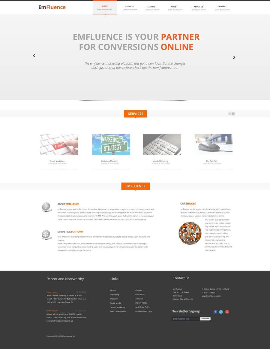 #34 for Website Design, Responsive, HTML5 by webgik