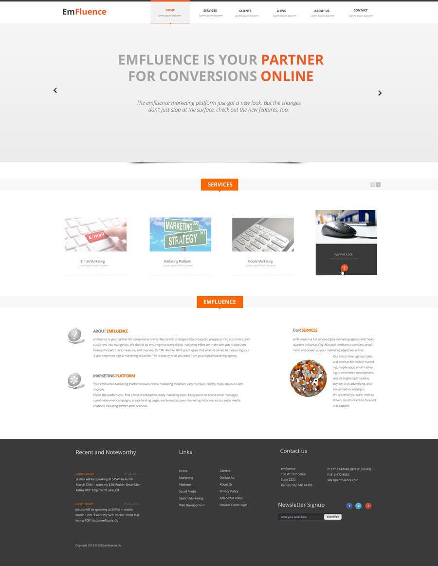 #35 for Website Design, Responsive, HTML5 by webgik