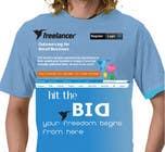 T-shirt Design Contest for Freelancer.com 관련, Graphic Design 콘테스트 응모작 #3750
