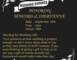 #4 for Wedding Shower and Bachelorette shower invite by alimohamedomar