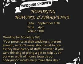 #4 for Wedding Shower and Bachelorette shower invite af alimohamedomar