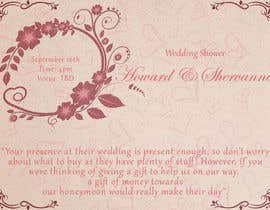 #6 for Wedding Shower and Bachelorette shower invite by japeetmark