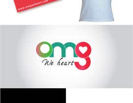 nº 151 pour Logo Design for new Company name: OMG We Heart.  Website: www.omgweheart.com par gabico