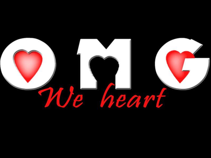 Kilpailutyö #141 kilpailussa Logo Design for new Company name: OMG We Heart.  Website: www.omgweheart.com