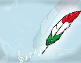 #23 para Draw a picture of a bird feather with Italian colors por Stellarhorse