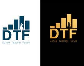 #64 for Dance Teacher Forum logo af gideon8
