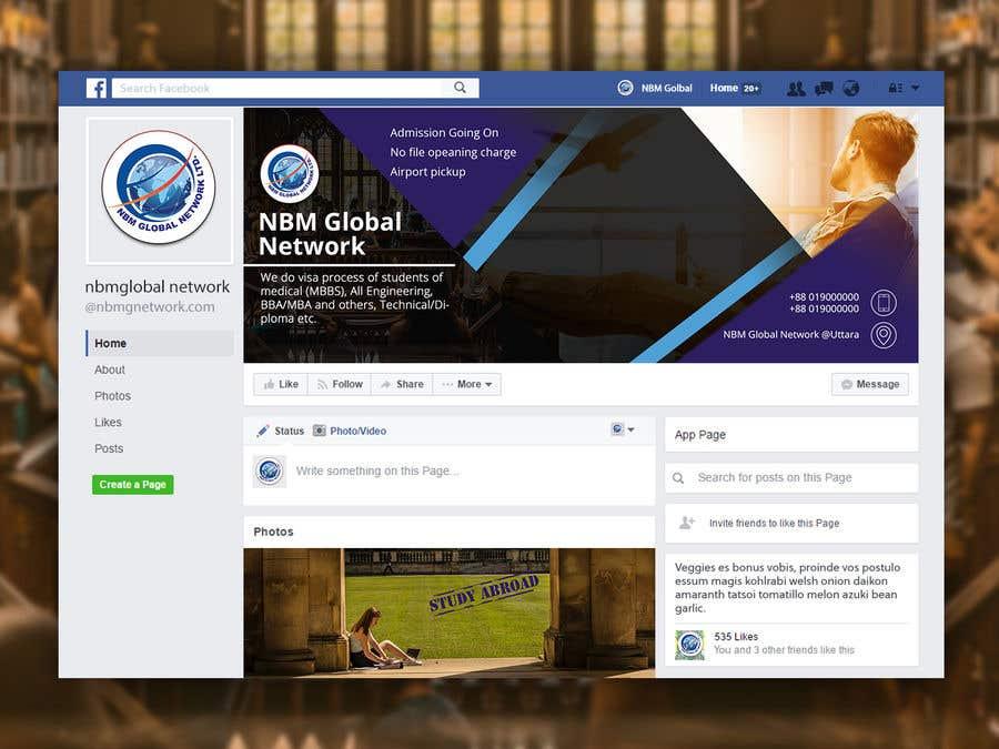 Bài tham dự cuộc thi #42 cho Design Facebook page cover photo
