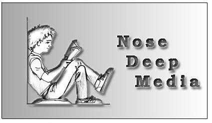 Kilpailutyö #                                        194                                      kilpailussa                                         Logo Design for eBook company Nose Deep Media