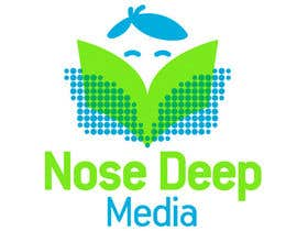 bdrahas tarafından Logo Design for eBook company Nose Deep Media için no 146