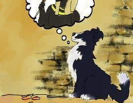 #4 untuk Border Collier Cartoon oleh AgustinaSofia