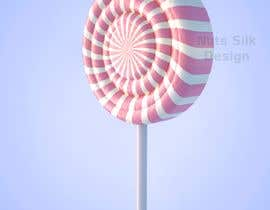 #6 for I need a 3D design ONLY of a candy swirl lollipop by MatiasDupuy
