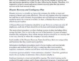 #7 for Network Disaster Recovery Plan by Shahzeb64