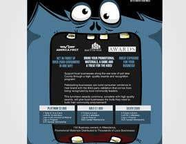 Nro 25 kilpailuun Design a Flyer for Halloween Sponsorships käyttäjältä hectorver