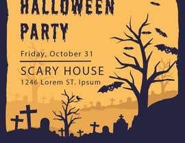 Nro 14 kilpailuun Design a Flyer for Halloween Sponsorships käyttäjältä jubayerkhanab