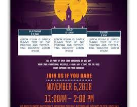 Nro 36 kilpailuun Design a Flyer for Halloween Sponsorships käyttäjältä jubayerkhanab