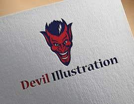 nº 5 pour Devil Illustration par imshamimhossain0