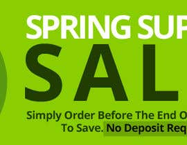 #24 para Spring Sale Banner Required por webcreadia