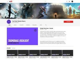 nº 18 pour YouTube Channel banner art and Icon par athoisabbir4u