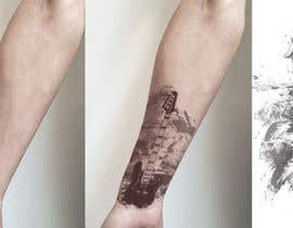 #24 untuk Draw a sketch for cover-up tattoo oleh Shikinushka