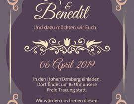 #4 pёr Wedding Invitation nga sununes