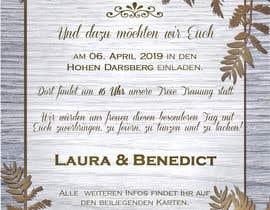 #5 pёr Wedding Invitation nga marianayepez