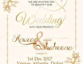 #9 pёr Wedding Invitation nga marianayepez