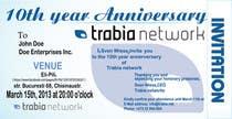 Graphic Design Contest Entry #39 for Corporate Party Invitation Design for 10th anniversary
