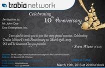 Photography Contest Entry #59 for Corporate Party Invitation Design for 10th anniversary
